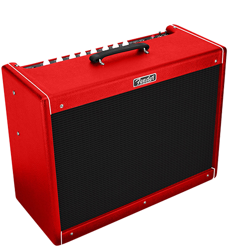 Fender Hot Rod DeVille 212 III - Limited Edition Red October
